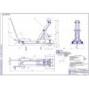 Проект реконструкции ремонтной мастерской с разработкой домкрата подкатного