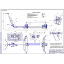Проект реконструкции ремонтной мастерской с разработкой подкатного 4-х точечного подъёмника