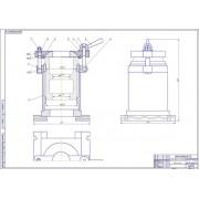 Проект технического дооснащения профилактория автогаража с разработкой приспособления для расточки корпуса промежуточной опоры карданной передачи автомобилей КрАЗ