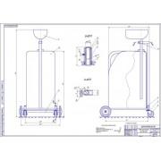 Проект технологического дооснащения профилактория автогаража с разработкой конструкции тележки под канистру для сбора масла