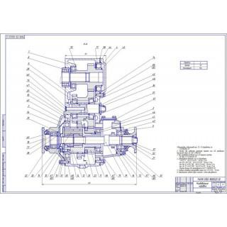 Дипломная работа на тему: Проектирование автомобиля УАЗ с расчетом тягово-скоростных и топливно-экономических свойств