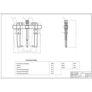 Проектирование специализированного центра по ремонту кузовов автомобилей семейства ВАЗ-2110 с конструктивной разработкой пресса усилием 12 т