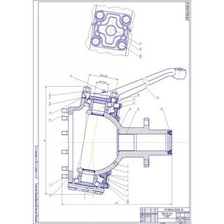 """Дипломная работа на тему: \""""Проектирование участка диагностики Д-2 с разработка комплексной технологии ремонта узла «Колеса переднего моста» автомобиля ГАЗ-66\"""""""