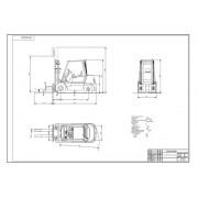 Проектирование участка по ремонту погрузчиков складского типа с разработкой стенда для испытания гидрооборудования вилочных погрузчиков