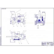 Разработка конструкции мобильного сервисного комплекса на базе шасси комбайна СК−5 НИВА