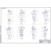 Разработка переходников для стенда тестирования и промывки форсунок