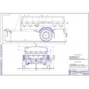Разработка торсионной подвески прицепа для легковых автомобилей