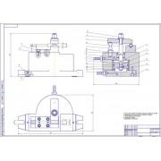 Реконструкция участка газопламенного напыления для восстановления оси полнопоточного масляного фильтра двигателя автомобиля ЗиЛ-130