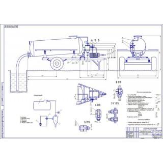 Дипломная работа на тему: Совершенствование нефтепродуктообеспечения автобусов с разработкой установки для очистки масла