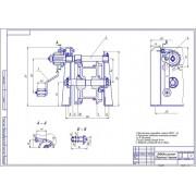 Модернизация стенда для разборки-сборки двигателей грузовых автомобилей