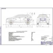 Проект модернизации системы питания автомобиля Лада XRAY для работы на компримированном природном газе