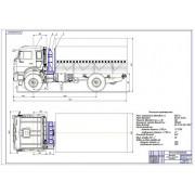 Проект модернизации системы питания автомобиля КамАЗ-43502-6023 для работы на компримированном природном газе