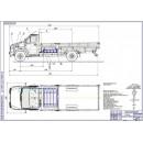 Проект модернизации системы питания автомобиля ГАЗ Next City для работы на компримированном природном газе