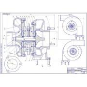 Стенд для исследования турбокомпрессора агрегата наддува ДВС