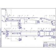 ТО грузовых автомобилей с разработкой подъемника гидравлического