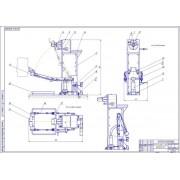 Разработка стенда для сборки и разборки двигателей автомобилей ЗиЛ и ГАЗ
