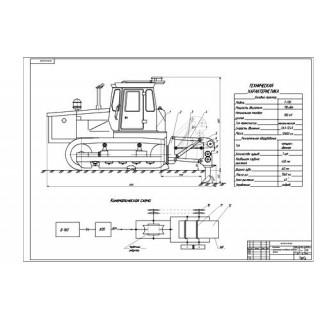 """Дипломная работа на тему """"Анализ технологий и конструкций, существующих рыхлителей с разработкой конструктивной схемы модернизированного рабочего оборудования рыхлителя"""""""