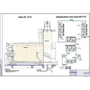 Реконструкция котельной мощностью 120-170 ГДж/час