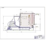 Проект модульной котельной установки мощностью 8,0 МВт с использованием САПР Inventor