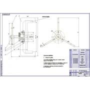 Реконструкция зоны ТО легковых автомобилей с разработкой съемника тормозных барабанов