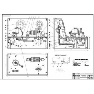 """Дипломная работа на тему """"Реконструкция электротехнического участка с разработкой приспособления для поверки давления масла"""""""