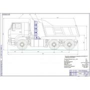 Модернизация системы питания МАЗ-630305-247 для работы на компримированном природном газе