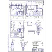 Организация и ТР систем впрыска легкого топлива двигателей  - Стенд для инжектора