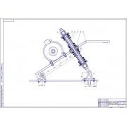 Модернизация зоны мойки грузовых автомобилей - Натяжитель