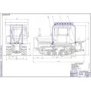 Модернизация системы питания трактора ДТ-75 для работы на компримированном природном газе