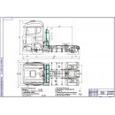 Проект модернизации системы питания автомобиля Scania R440 для работы на компримированном природном газе