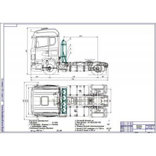 Дипломная работа на тему: Проект модернизации системы питания автомобиля Scania R440 для работы на компримированном природном газе