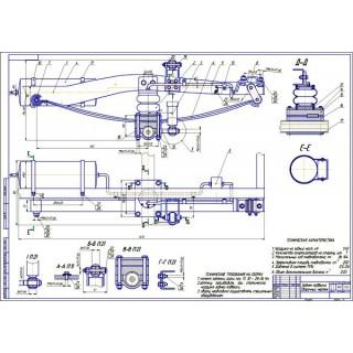 Дипломная работа на тему: Проект модернизации задней подвески автомобиля УАЗ-23632