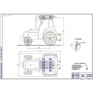 Дипломная работа на тему: Проект модернизации системы питания трактора Агромаш 30ТК для работы на природном газе КПГ
