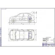 Проект модернизации системы питания автомобиля ВАЗ-1118 для работы на компримированном природном газе