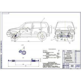 Дипломная работа на тему: Проект модернизации рулевого управления автомобиля ВАЗ-2123 путем применения гидропривода