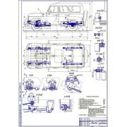Проект модернизации подвески автомобиля УАЗ-3151 для внедорожного использования