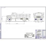 Проект модернизации тормозной системы автомобиля ГАЗ-3507 путем установки дисковых тормозов