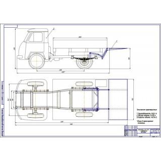 Дипломная работа на тему: Проект модернизации автомобиля УАЗ-3303 путем разработки гидроборта