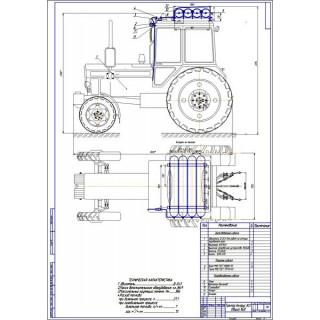Дипломная работа на тему: Проект модернизации системы питания трактора Беларус 80.1 для работы на КПГ