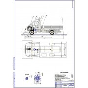Автомобиль ГАЗ-3302 с установкой дискового вариатора, разработкой технологии ТО и Р