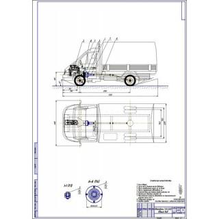 Дипломная работа на тему: Автомобиль ГАЗ-3302 с установкой дискового вариатора, разработкой технологии ТО и Р