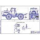 Проект увеличения проходимости трактора Т-150 К с применением системы регулирования внутреннего давления воздуха