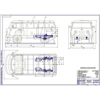 Дипломная работа на тему: Проект модернизации ходовой части автомобиля УАЗ-3741 путем установки пневматической подвески