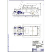 Модернизация передней подвески автомобиля УАЗ-31519