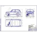 Проект модернизации передней подвески автомобиля ВАЗ-2121 для внедорожного использования
