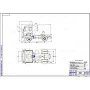 Проект установки механизма дистанционного управления КПП автомобиля МАЗ-5420