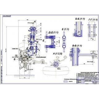 Дипломная работа на тему Модернизация передней подвески Лады Гранта
