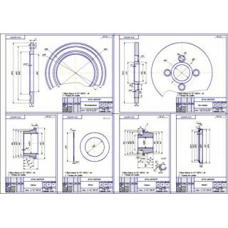 Дипломная работа на тему Проект модернизации сцепления ГАЗ-3105