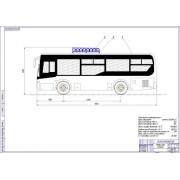 Перевод на газ автобуса Yutong ZK6852HG