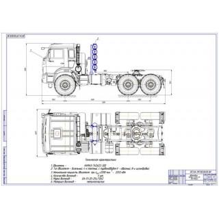 Дипломная работа на тему Перевод на газ КамАЗ-53504-46